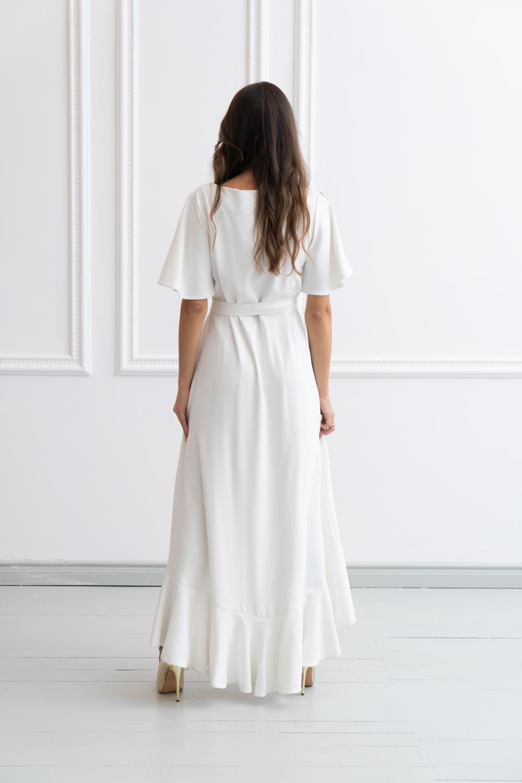 Suknia ślubna kopertowa (1)