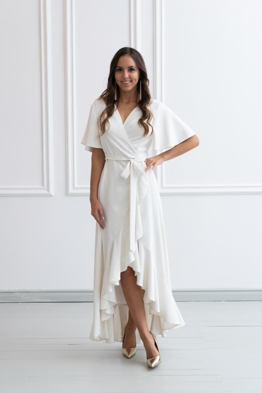 Suknia ślubna kopertowa (2)