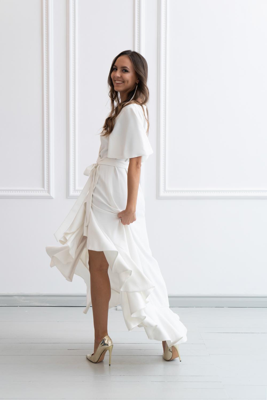 Suknia ślubna kopertowa (3)